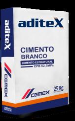 Cimento Branco Estrutural CEMEX 25 kg